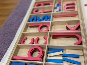 Materials Spotlight: Using the Movable Alphabet to write sentences