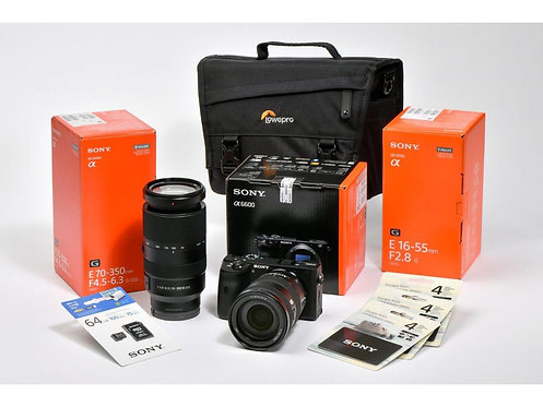 Sony Alpha 6600 16-55mm/70-350mm SET