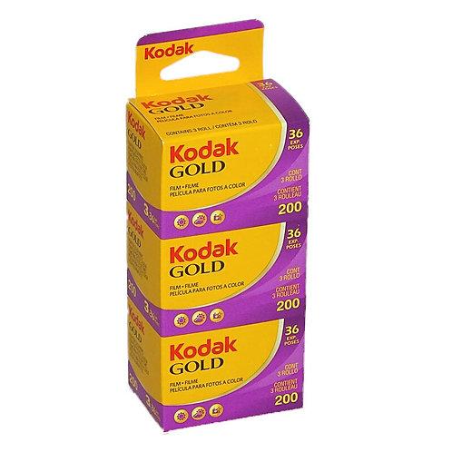 Kodak GOLD 200 GB 135-36 - 3er Pack
