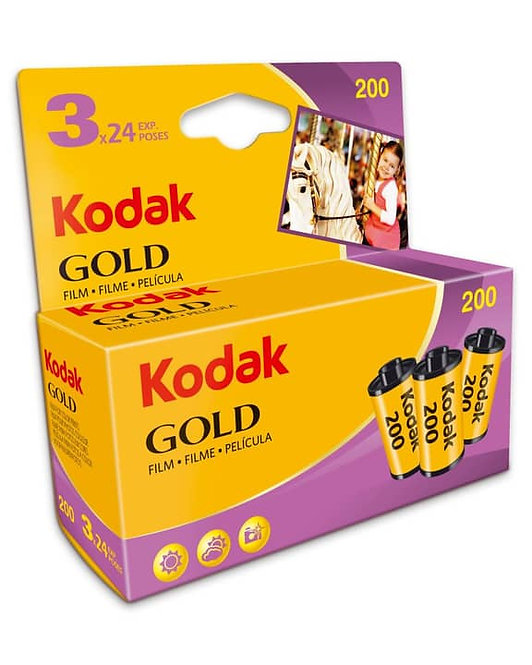 Kodak GOLD 200 GB 135-24 - 3er Pack