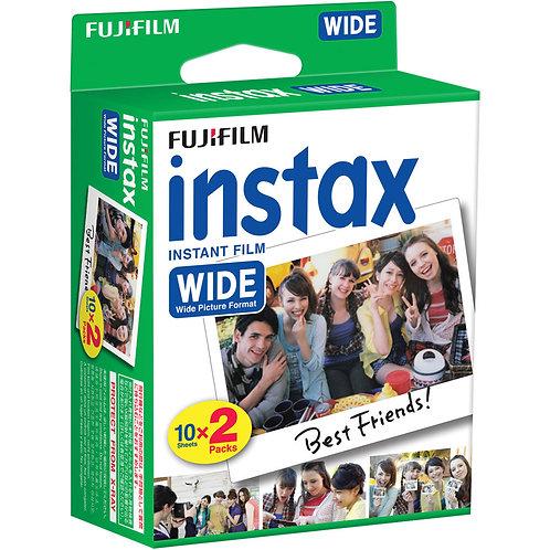 Fujifilm Instax Color Wide 2 x 10 Fotos