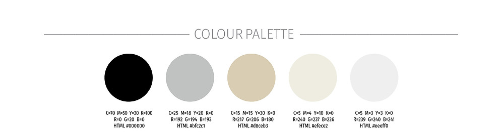 Colour Palette Any Old Task Brand Board