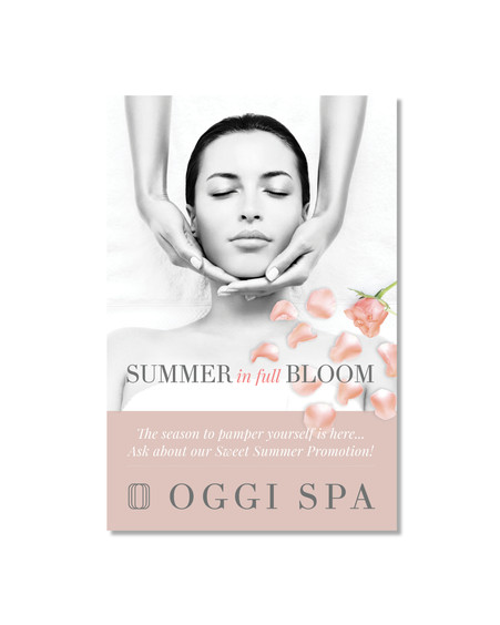 Oggi Spa - Out of Door Promotional Poster