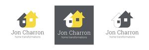 LOGO DESIGN FOR JON CHARRON HOME TRANSFORMATIONS
