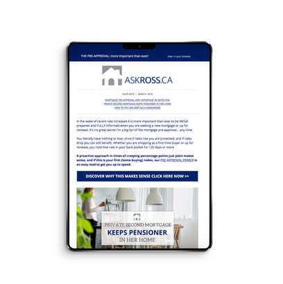 Askross.ca - Monthly Newsletter
