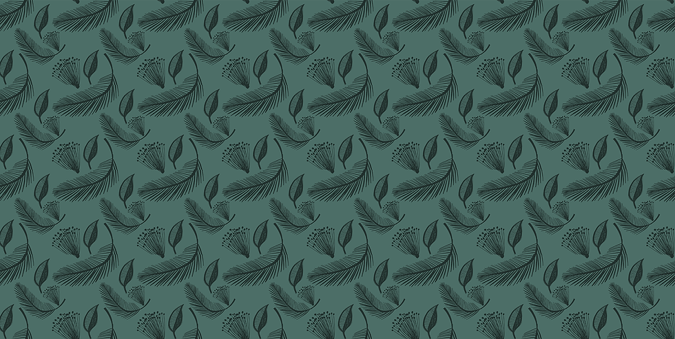 Leaves and Herbs Background