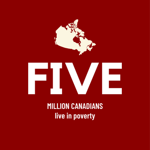 Five Million Canadians live in poverty
