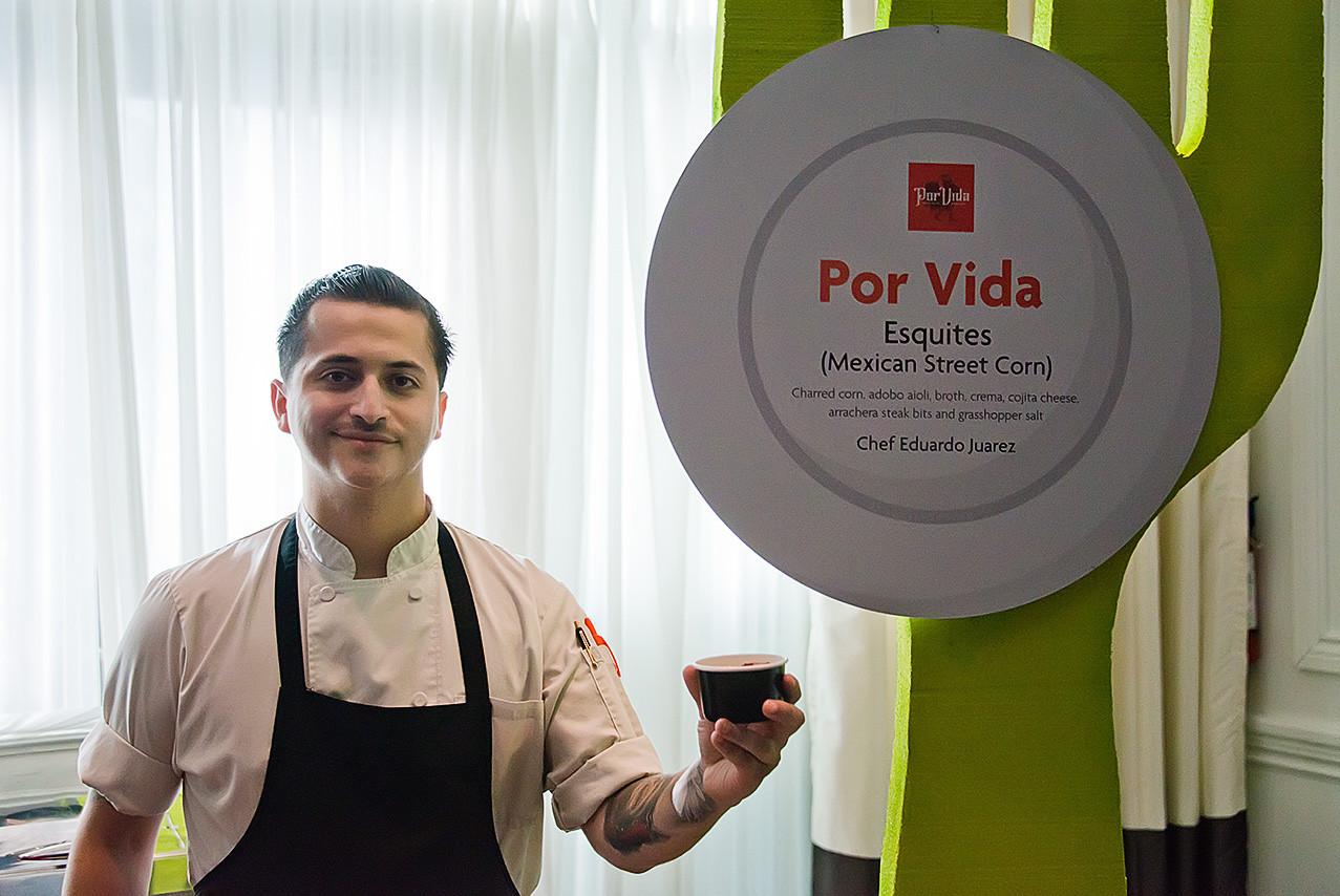 Por Vida Chef Eduardo Winner 2019