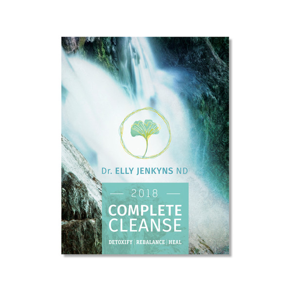 Complete Cleanse Workbook Cover Design