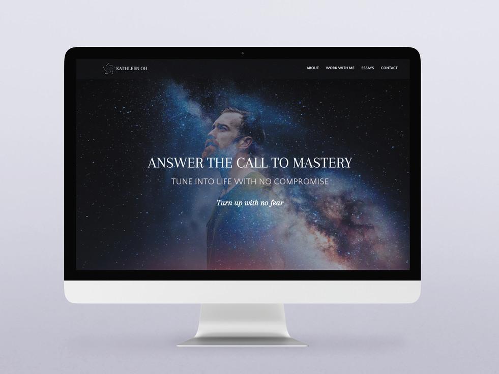 Coach Kathleen Oh - Website Design