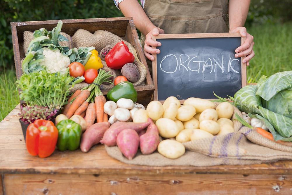 Organic Produce Farmers Market