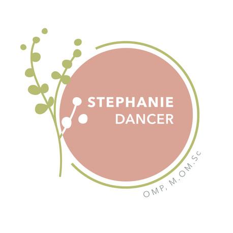 Stephanie Dancer | OMP, M.OM.Sc | Logo Design