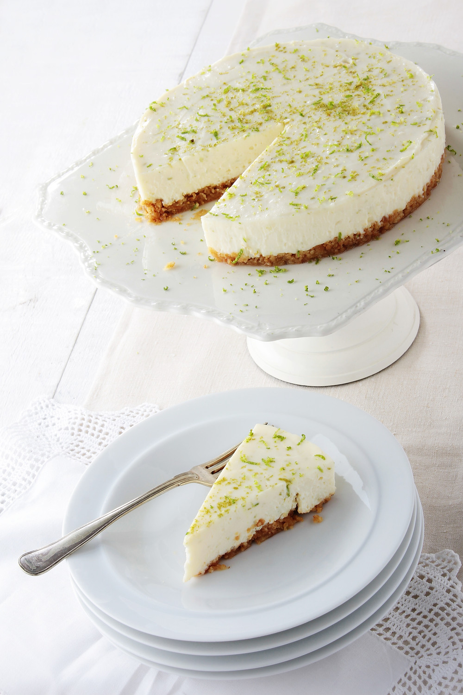 raw lime cheesecake