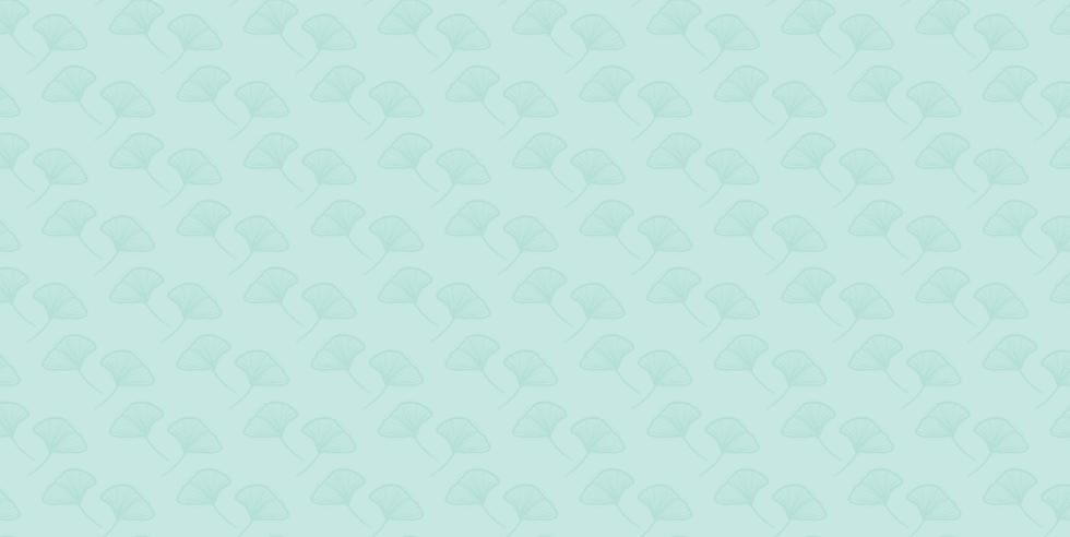Decorative Ginkgo leaf background