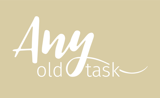 Any Old Task - One Colour Logo Boxed