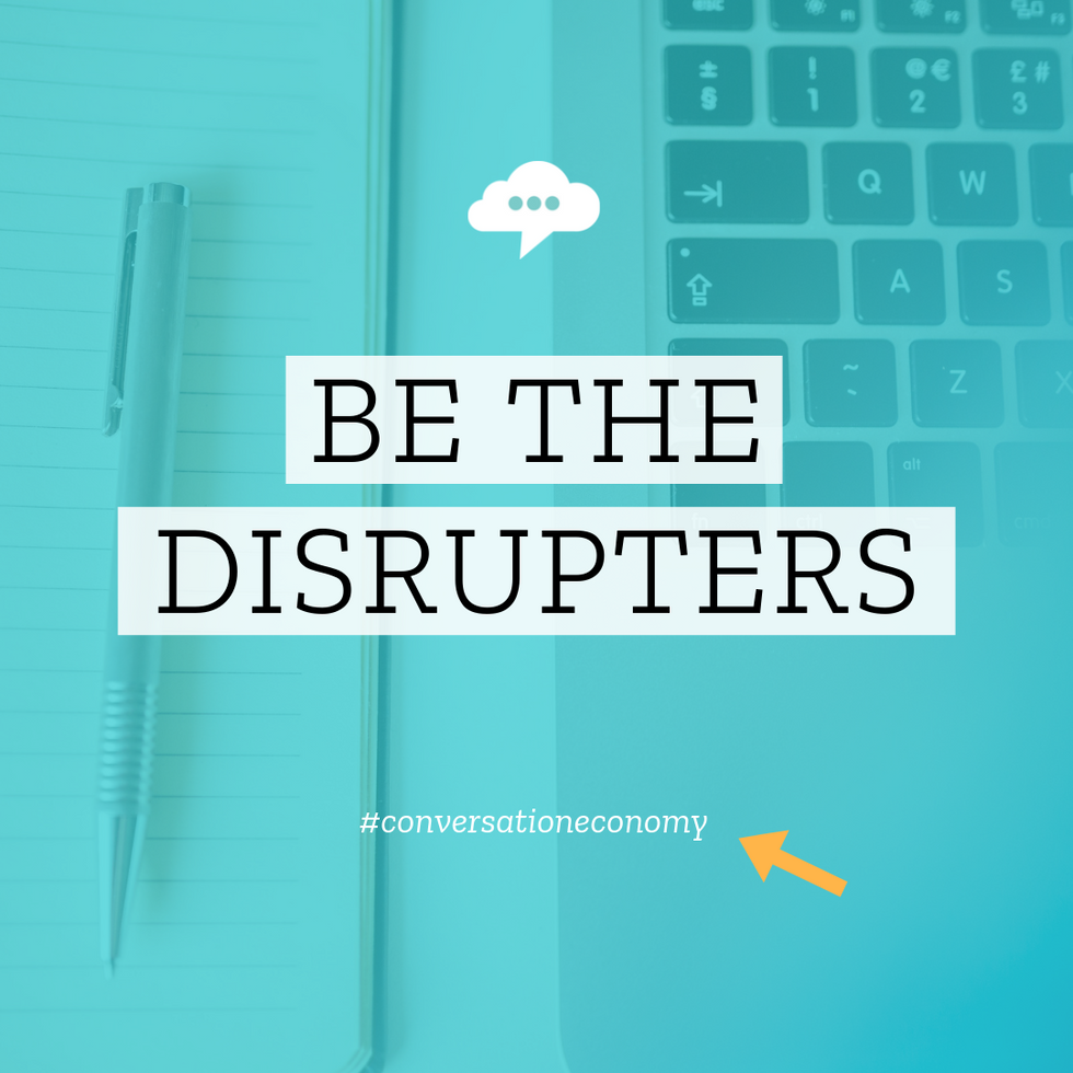 Conversation Economy - Social Media Template