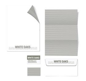 White Oaks Letterhead & Envelope