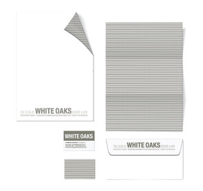 White Oaks Letterhead & Envelope