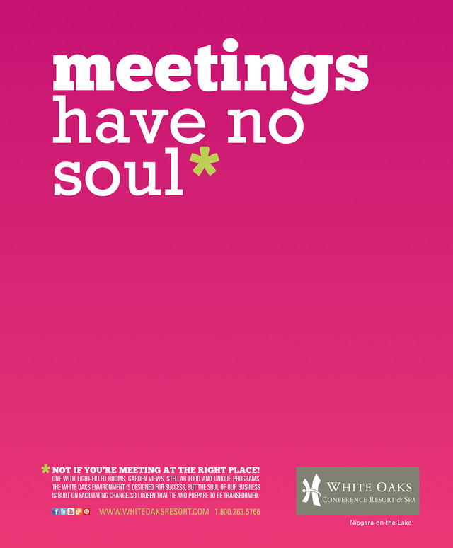 White Oaks Ad Series (Meetings)