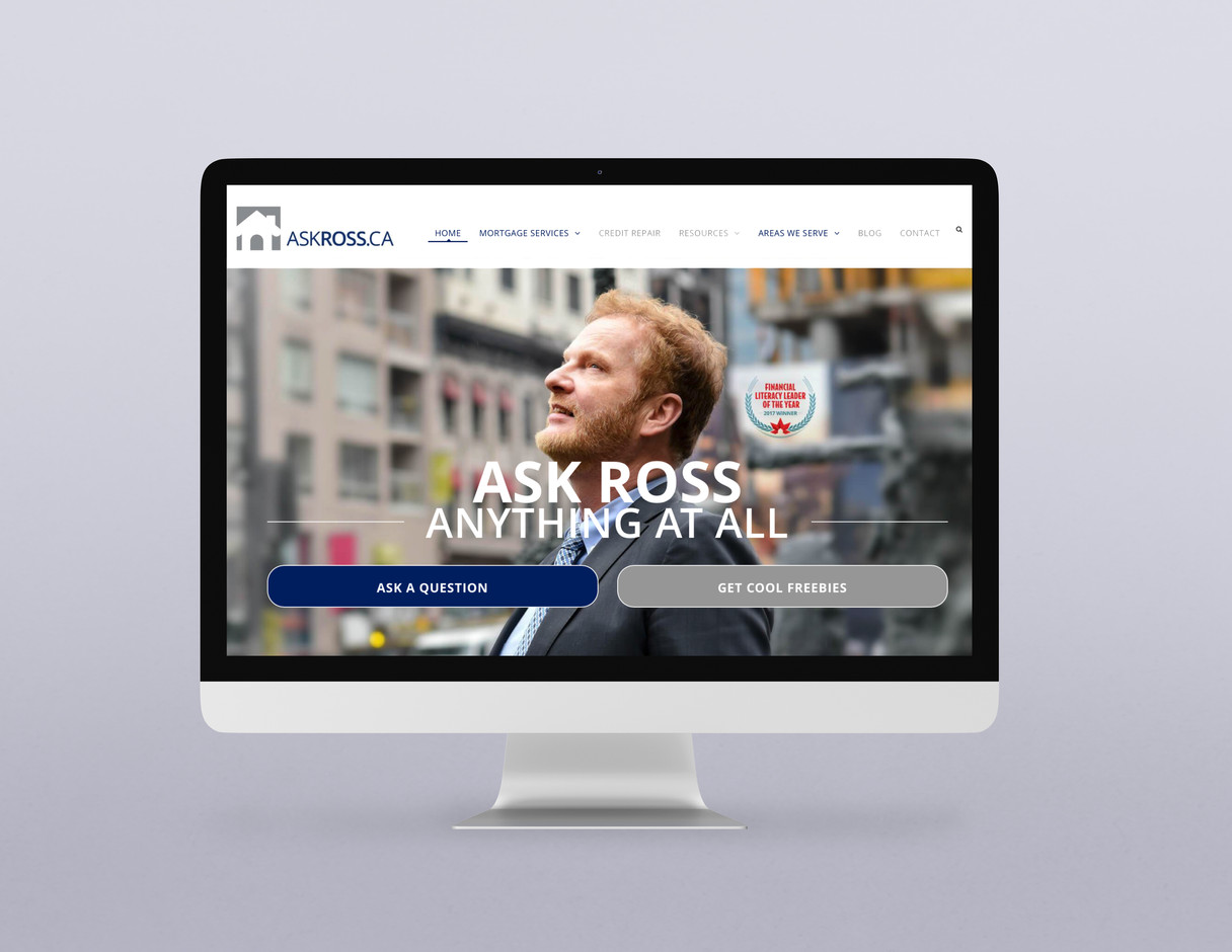 Askross.ca - Website Art Direction