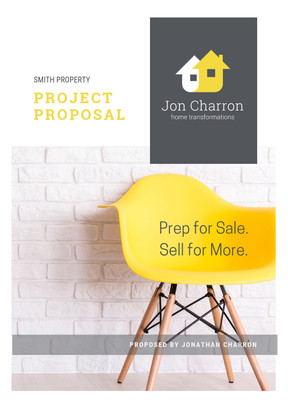 Jon Charron Home Transformations - Client Proposal Template