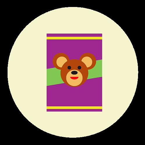 BOX OF BEAR PAWS