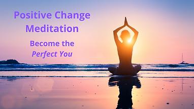 Positive Meditation Facebook Event Cover