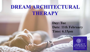 Dream Architectural Therapy Master LATES