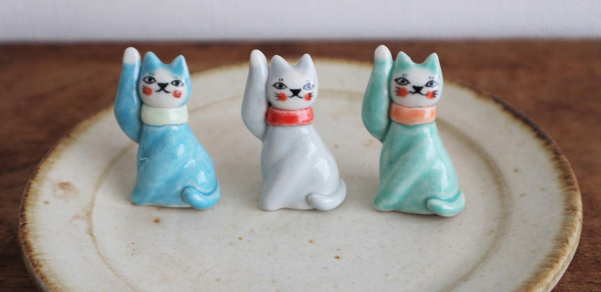 フランスの招き猫