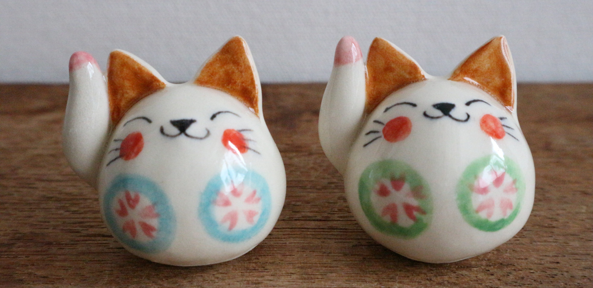 むさしの桜 からころ猫