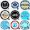 Thumbnail: Button Pin maritim