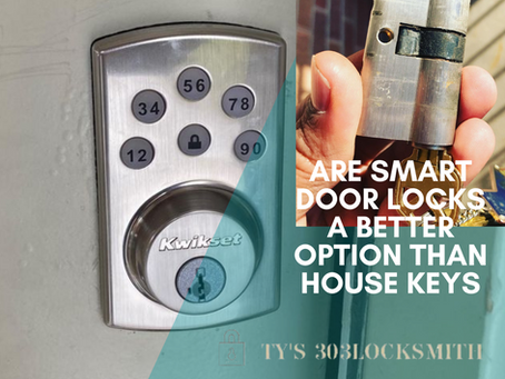 Are Smart Door Locks a Better Option than House Keys?