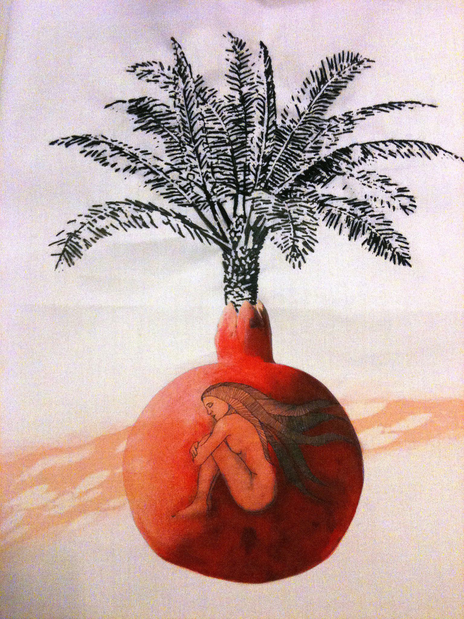 highres Women & Pomegranate & black niddle point.jpg