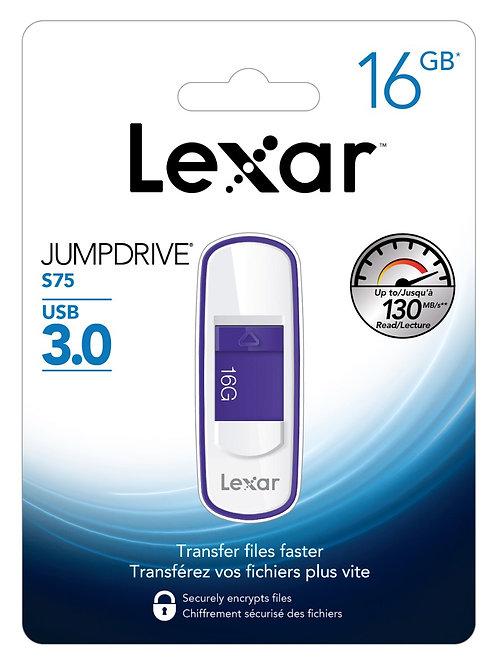 Pendrive Lexar S75 16GB - USB 3.0