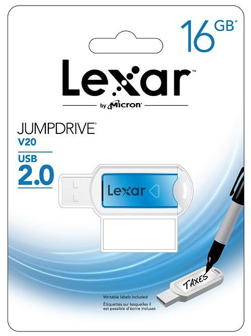 Pendrive Lexar JumpDrive V20 16GB USB 2.0
