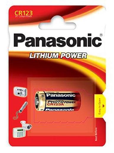 Bateria litowa PANASONIC CR123A