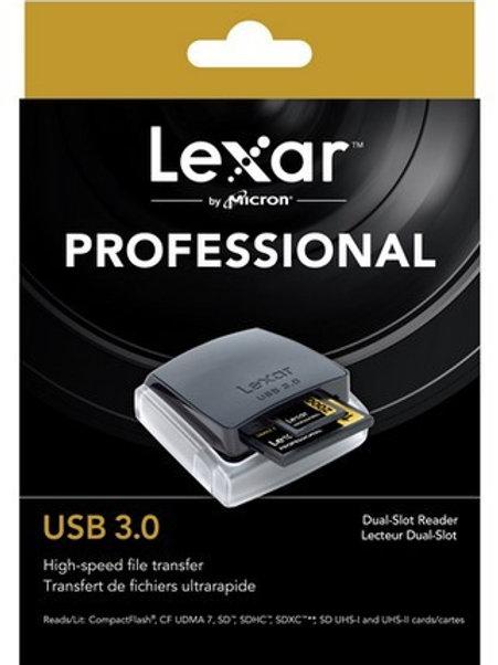 Lexar Professional USB 3.0 Dual-Slot Reader (CF, SD )
