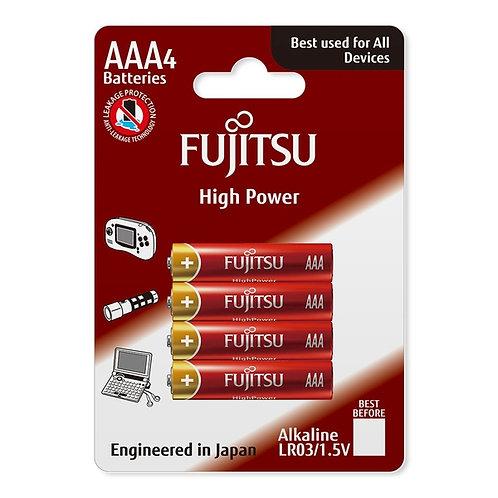 Bateria alkaiczna FUJITSU AAA LR3 - 4 szt