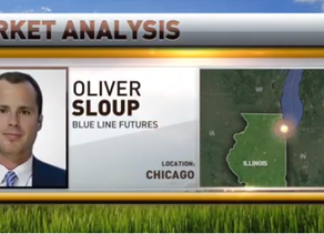 RFD-TV Interview | Soybean Open Interest at $10 | Cattle on Feed | Dollar Index | Oliver Sloup