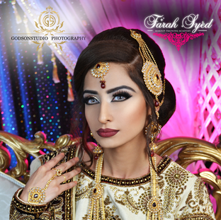 Traditional Pakistani Bridal Makeup and Hair