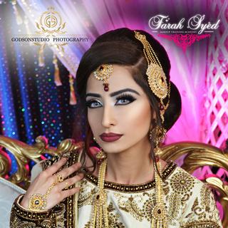 Traditional Pakistani Bridal Makeup and Hair