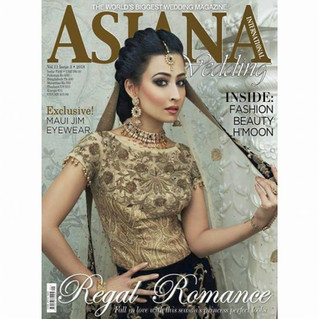 Summer 2018 Front Cover for Asiana International Magazine