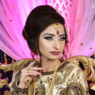 Heavy Asian Bridal Make up