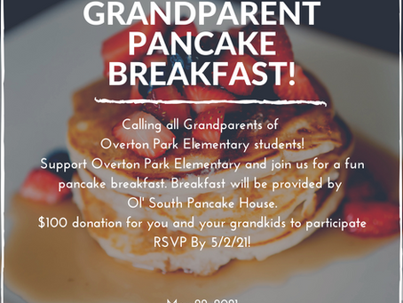 Grandparent Pancake Breakfast!