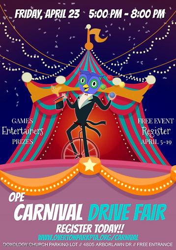Copy of Copy of Carnival Event Invitatio