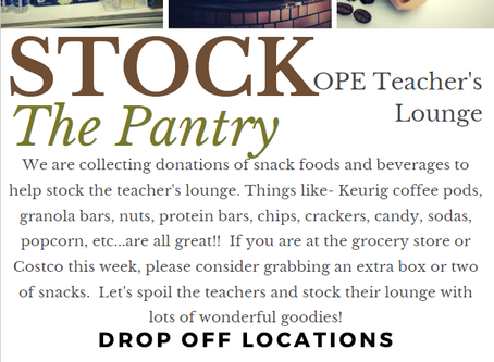 Stock the Pantry