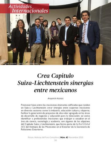 Revista Forum - Noticias del foro consultivo No. 42