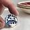 Thumbnail: Blue-and-white vintage china ring