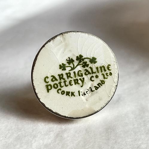 Carrigaline Irish Pottery vintage china ring