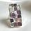 Thumbnail: Purple glasses, mosaic ring